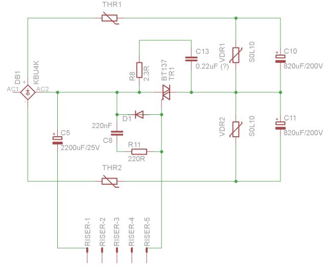 H7878 Input Rectifier Schematic