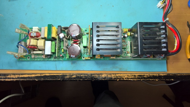 H7878 PSU Board Removed