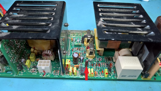 H7878 PSU Board With High ESR Capacitor