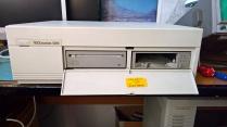 VAXstation 3100 With Drive Door Open
