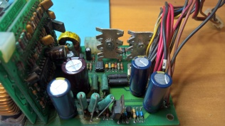 H7826 After Replacing Capacitors and Cleaning Heatsinks 4