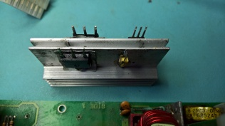 H7826 Heatsink With Output Rectifier Parts and Temperature Sensor