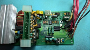 H7826 With Capacitors Removed After Cleaning
