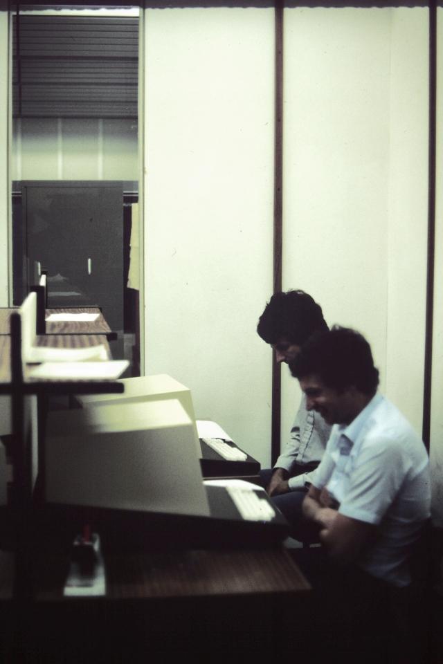 MU5 Gordon Frank & Ian Watson Terminal Room