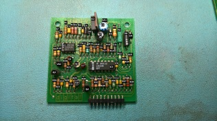 Labelled parts on the 5019576 daughter board for the H7826 Power Supply