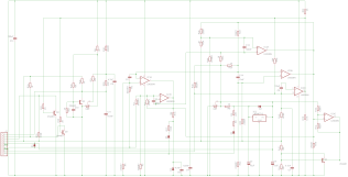 Schematic for the 5019576 daughter board for the H7826 Power Supply