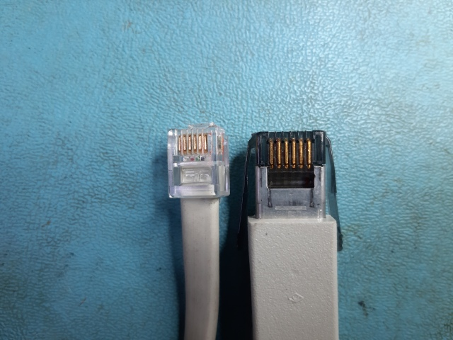 VAXmate LK250 Keyboard Cable Connectors