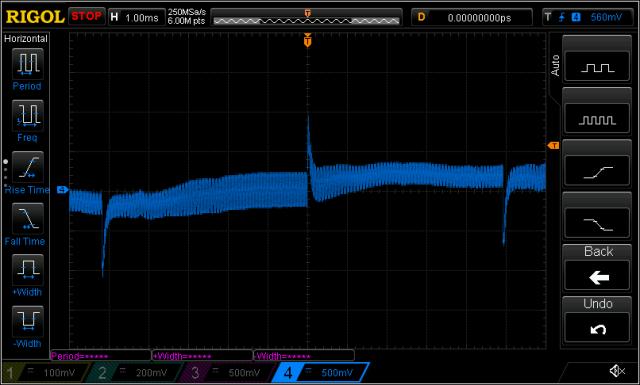 H7270 Transformer P1 Ringing Test